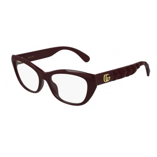 Gucci GG0813O - 003 Burgundy | Eyeglasses Woman