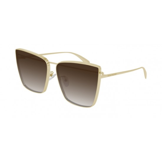 Alexander McQueen AM0298S - 002 Gold | Sunglasses Woman