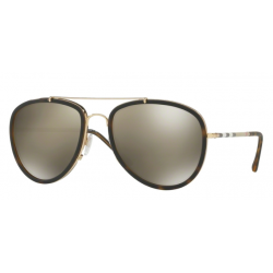Burberry BE 3090Q 10525A Gold Havana Dark Matt