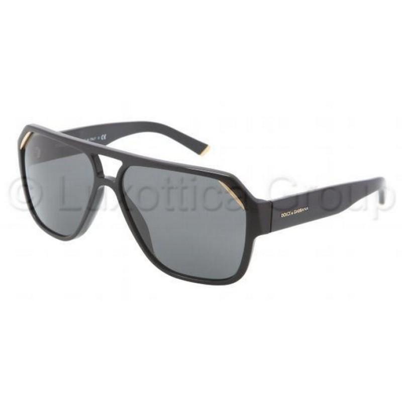38bf5b43178c Dolce & Gabbana DG 4138 501-87 Black Polished