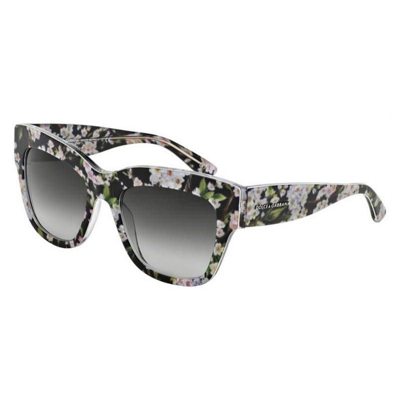 79da4a15fd3 Dolce   Gabbana DG 4231 28428G Almond Flowers Black Peach Flowers
