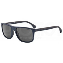 Emporio Armani EA 4033 523087 Blue Brown Rubber