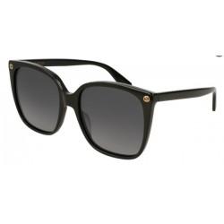 Gucci GG0022S 007 Polarized Black