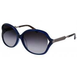 Gucci GG0076SK 005 Blue Ruthenium