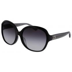 Gucci GG0080SK - 002 Black