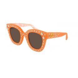 Gucci GG0116S - 010 Orange