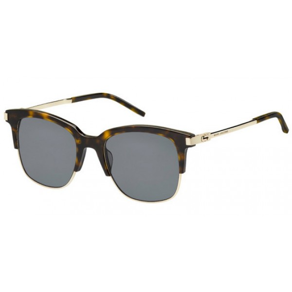 Marc Jacobs 138-S AQT TD Polarized Dark Havana Light Gold