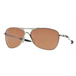 Oakley Crosshair OO 4060 02 Chrome Vr28 Black