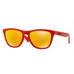 Oakley OO 9013 48 Frogskins Matte Red
