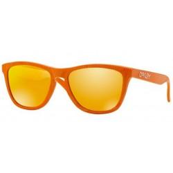 Oakley OO 9013 53 Frogskins Fingerprint Atomic Orange
