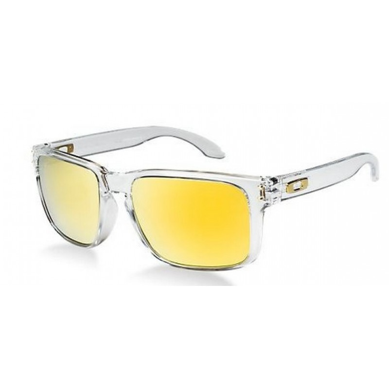 1d4b4f7f782 Oakley Holbrook Polished Clear 24k Iridium
