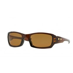 Oakley Fives Squared 9238 08 Polarized Polished Rootbeer