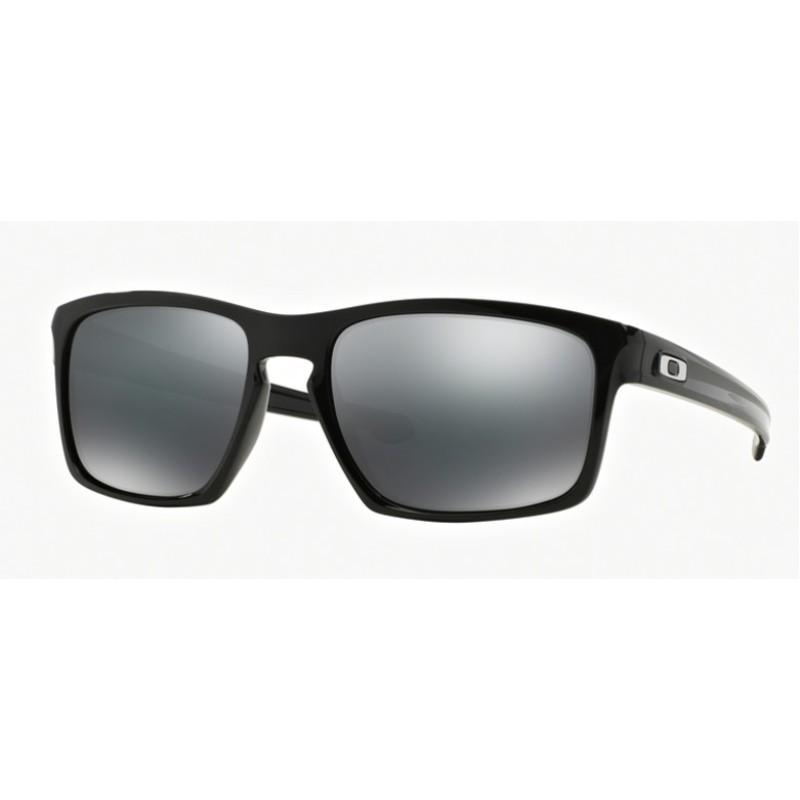 abed203073 Oakley Sliver OO 9262 04 Polished Black