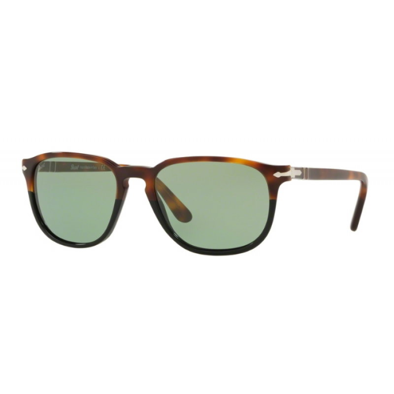 d2e419b190 -36% Persol PO 3019S - 108952 Tortoise Brown Black