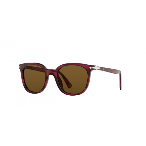 Persol PO 3216S - 108433 Stripped Red