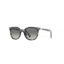 Persol PO 3216S - 108371 Stripped Grey