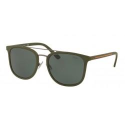 4e5b8de63e9 Polo PH 4144 - 521671 Matte Gunmetal Olive Green