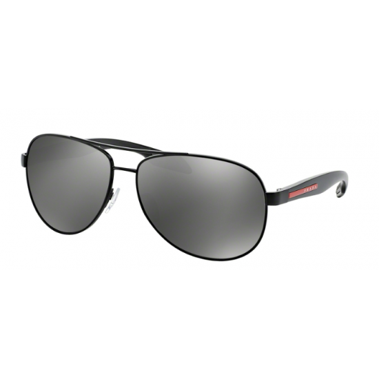 Prada Linea Rossa PS 53PS - 1BO7W1 Black Demi Shiny | Sunglasses Man