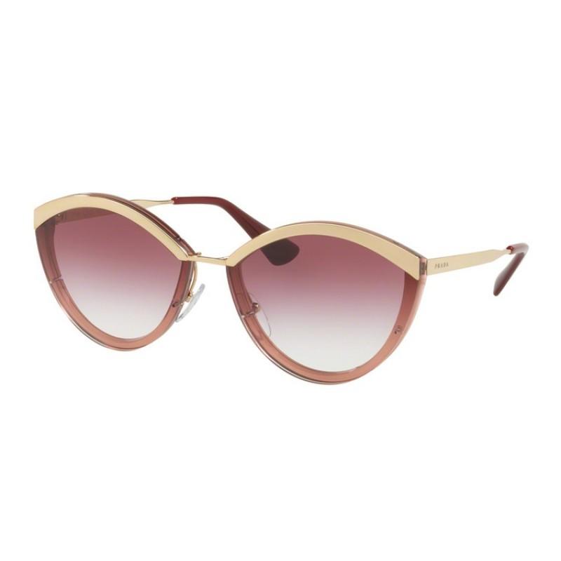 3bd173b2a21d Prada PR 07US Catwalk 967094 Gold / Pink | Sunglasses Woman