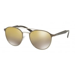 Prada PR  62TS Conceptual VIX6O0 Matte Light Brown / Silver