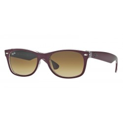 Ray-Ban RB 2132 605485 New Wayfarer Bordeaux Matt Transparent