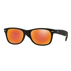 Ray-Ban RB 2132 622/69 New Wayfarer Rubber Black