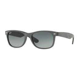 Ray-Ban RB 2132 New Wayfarer 624171 Black/top Grey Alcantara