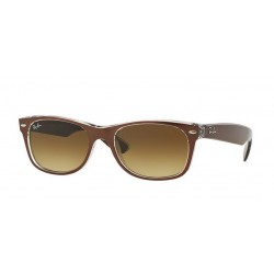 Ray-Ban RB 2132 614585 New Wayfarer Brown Trasparent