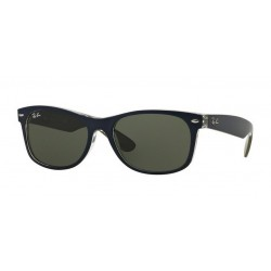 Ray-Ban RB 2132 6188 New Wayfarer Violet on Orange