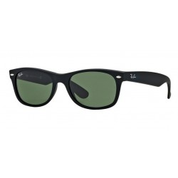 Ray-Ban RB 2132 622 New Wayfarer Black Rubberized