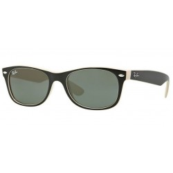 Ray-Ban RB 2132 875 New Wayfarer Black Beige