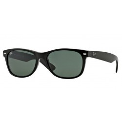 Ray-Ban RB 2132 901L New Wayfarer Black Polished