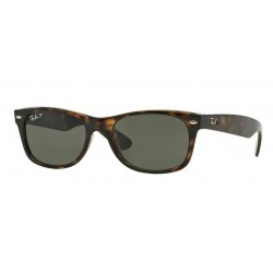 Ray-Ban RB 2132 902-58 New Wayfarer Polarized Havana