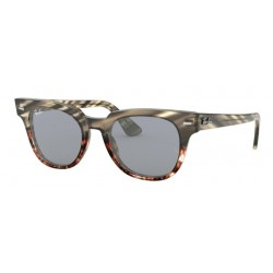 Ray-Ban RB 2168 METEOR 1254Y5 GREY GRADIENT BROWN STRIPPED