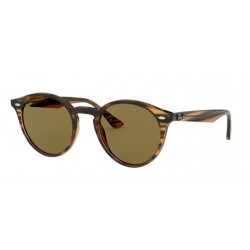 Ray-Ban RB 2180 - 820/73 Stripped Red Havana