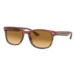 Ray-Ban RB 2184 125351 Pink Gradient Beige Striped