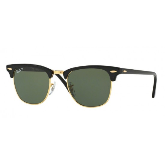 Ray-Ban RB 3016 Clubmaster 901/58 Black | Sunglasses Man