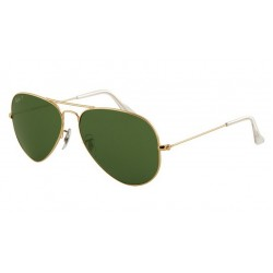 Ray-Ban RB 3025 001-58 Aviator Large Metal Polarized Gold