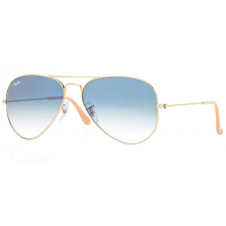 Ray-Ban RB 3025 001-3F Aviator Large Metal Gold