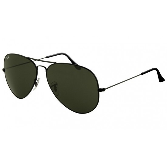 Ray-Ban RB 3026 Aviator Large Metal Ii L2821 Black | Sunglasses Man