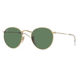 Ray-Ban RB 3447 001 Round Metal Gold