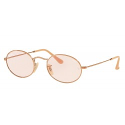 Ray-Ban RB 3547N Oval 91310X Copper