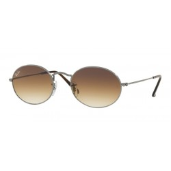 Ray-Ban RB 3547N Oval 004/51 Gunmetal