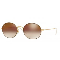 Ray-Ban RB 3594 9115S0 Rubberized Brown Gold