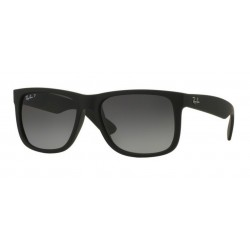 Ray-Ban RB 4165 JUSTIN 622/T3 BLACK RUBBER