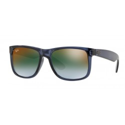 Ray-Ban RB 4165 JUSTIN 6341T0 TRASPARENT BLUE