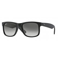 Ray-Ban RB 4165 JUSTIN 601/8G RUBBER BLACK