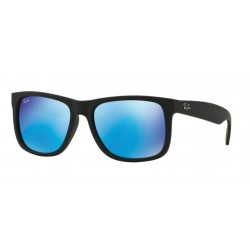 Ray-Ban RB 4165 JUSTIN 622/55 BLACK RUBBER