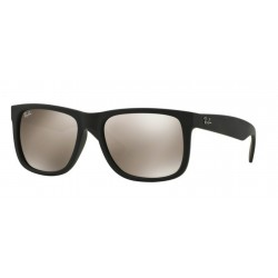 Ray-Ban RB 4165 JUSTIN 622/5A RUBBER BLACK