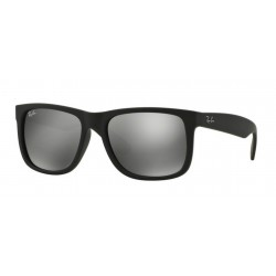 Ray-Ban RB 4165 JUSTIN 622/6G RUBBER BLACK